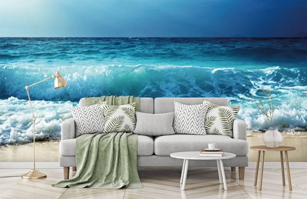 Hav och hav Stora vågor 7