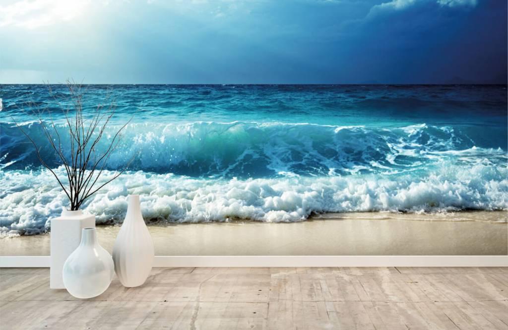 Hav och hav Stora vågor 8