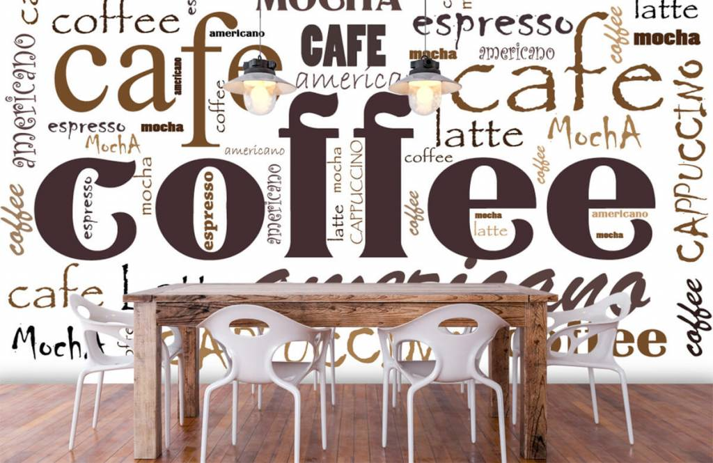Övriga Kaffe bokstäver 1
