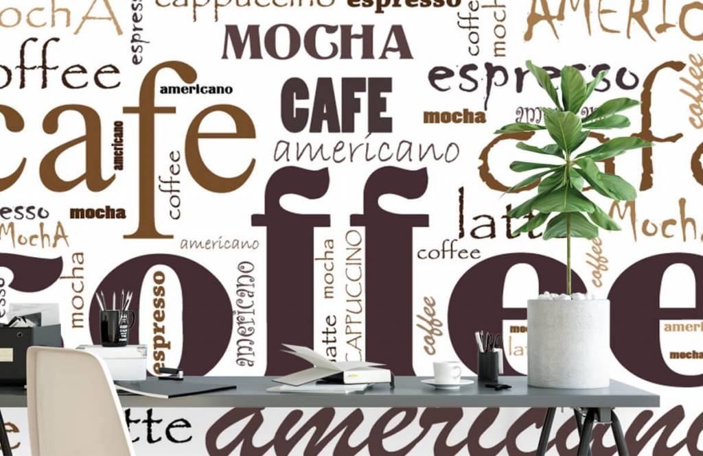 Övriga Kaffe bokstäver 2