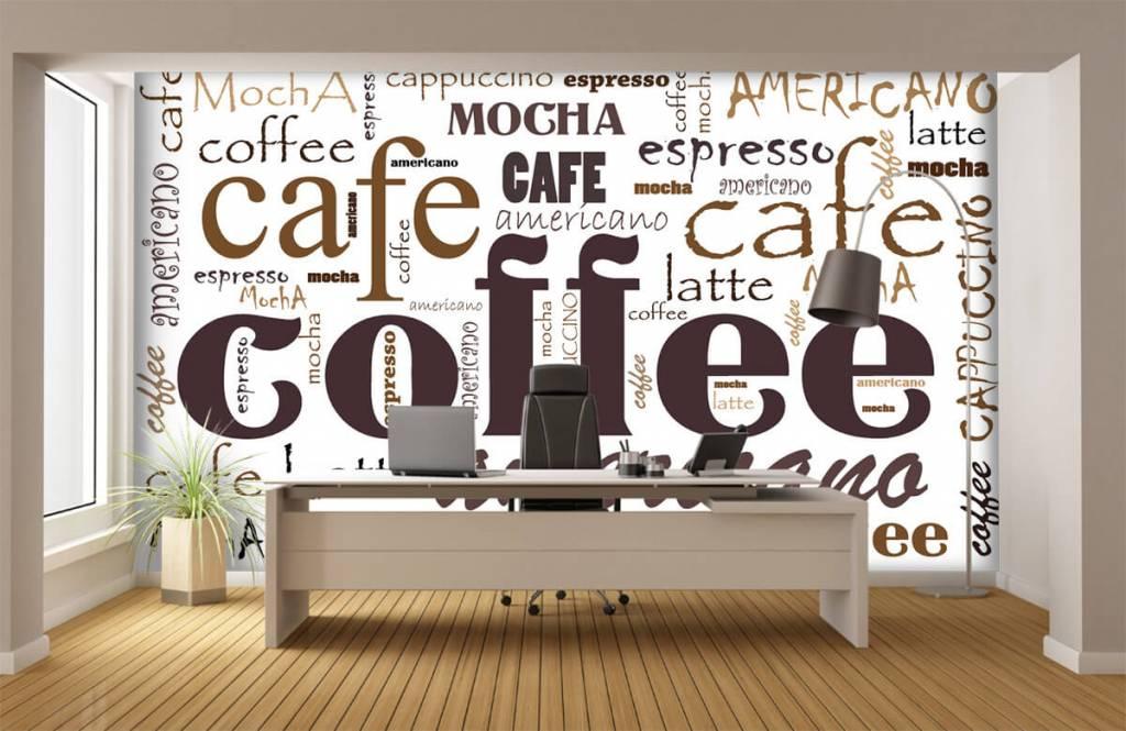 Övriga Kaffe bokstäver 4