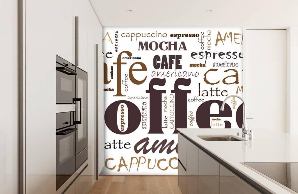 Övriga Kaffe bokstäver 5