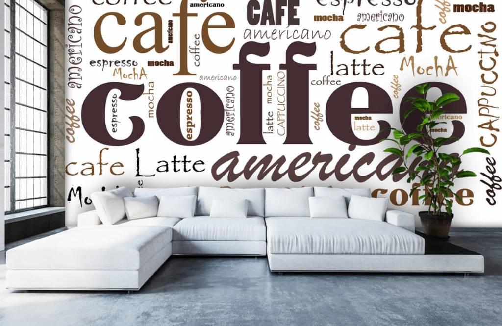 Övriga Kaffe bokstäver 6