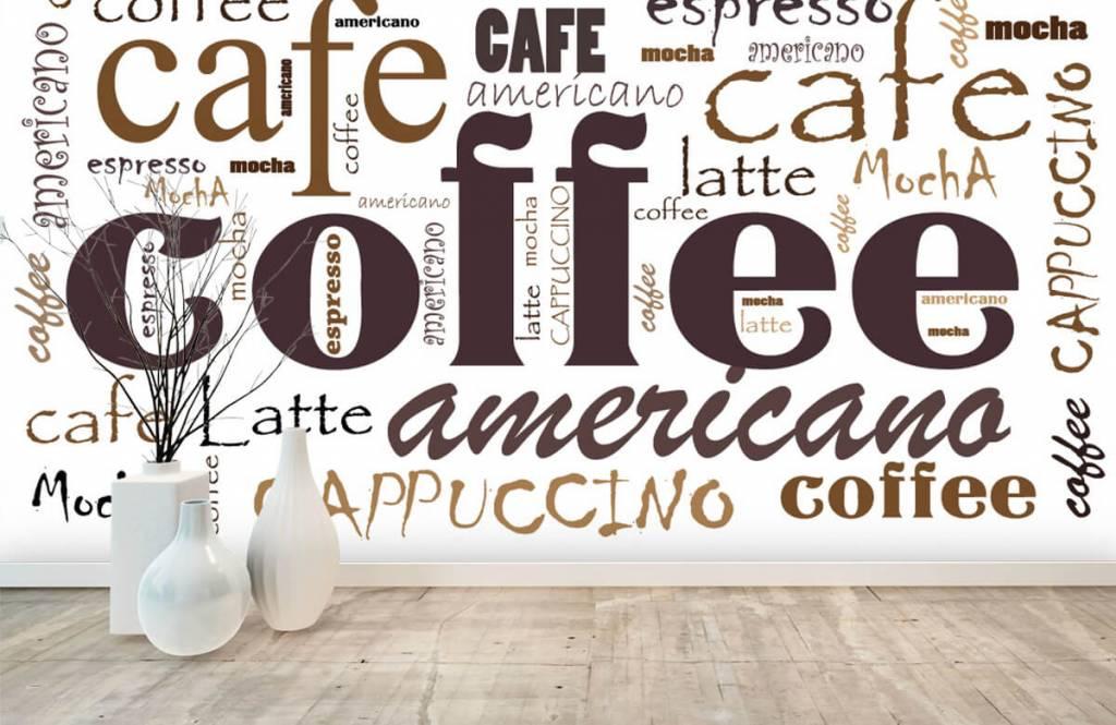 Övriga Kaffe bokstäver 7