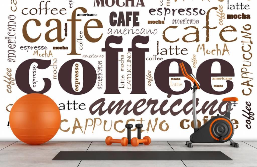 Övriga Kaffe bokstäver 8