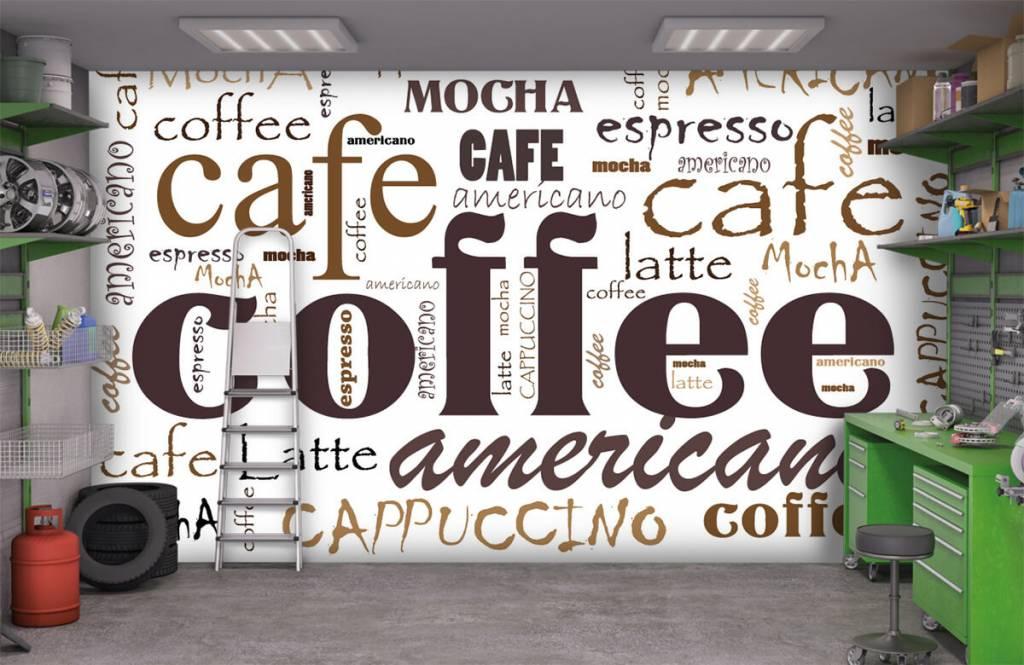 Övriga Kaffe bokstäver 9