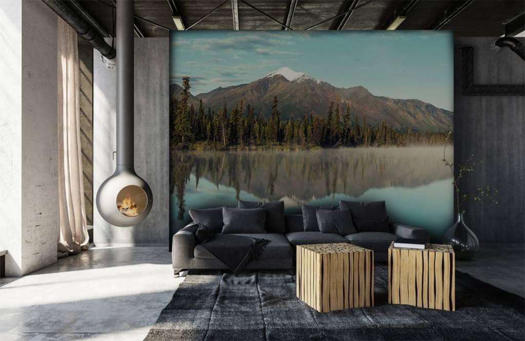 Berg landskap i Alaska 3