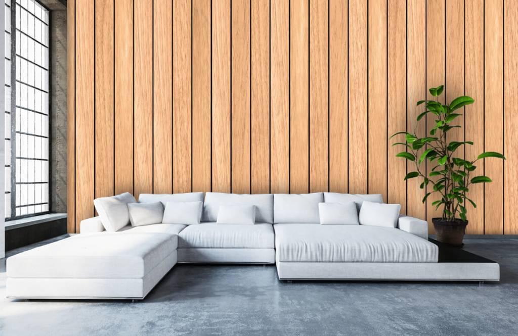 Trä tapeter Lätta vertikala träplankor 5