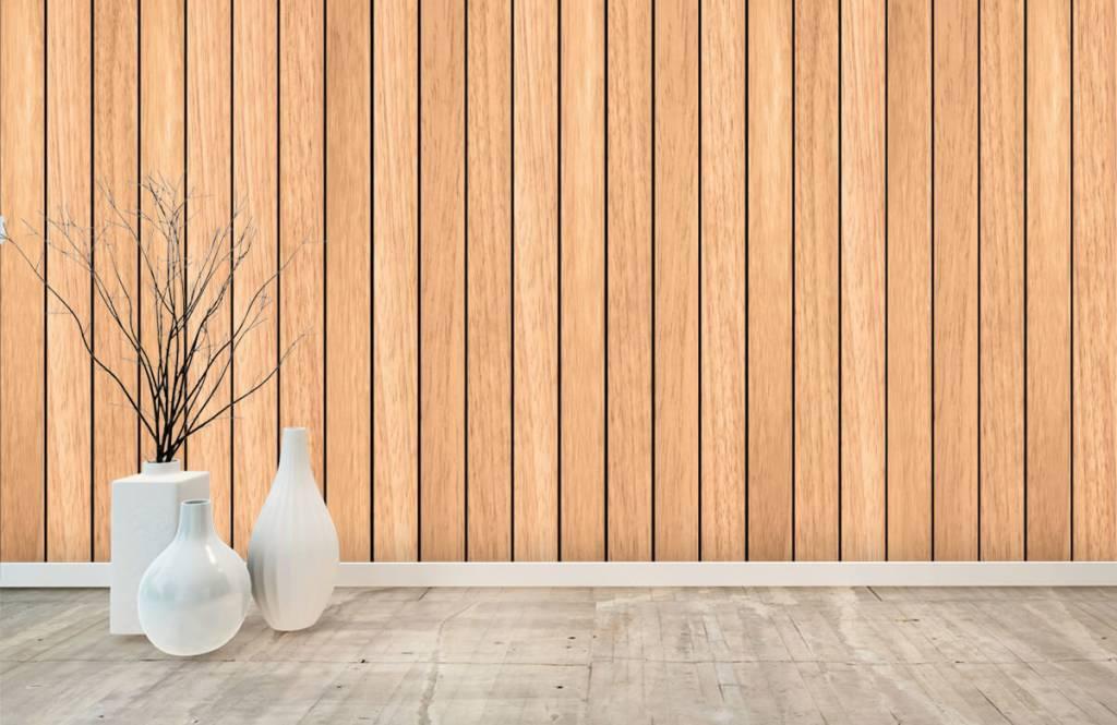 Trä tapeter Lätta vertikala träplankor 8