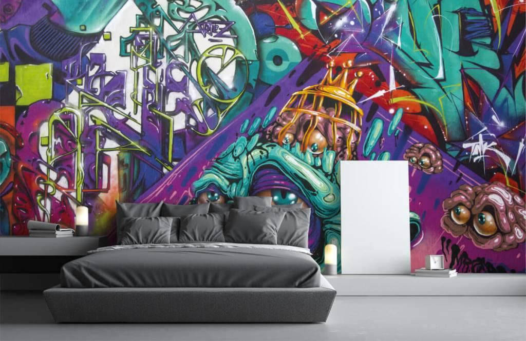 Graffiti Modernt graffiti 1