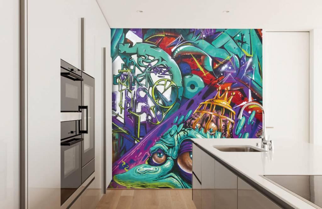 Graffiti Modernt graffiti 3