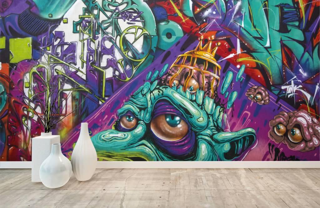 Graffiti Modernt graffiti 5