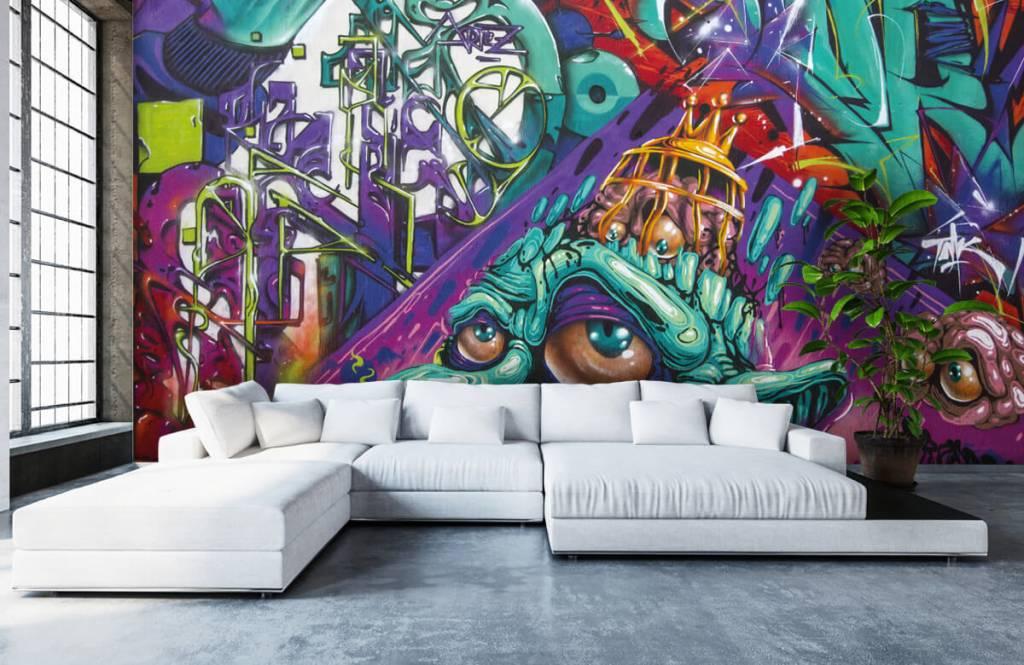 Graffiti Modernt graffiti 6