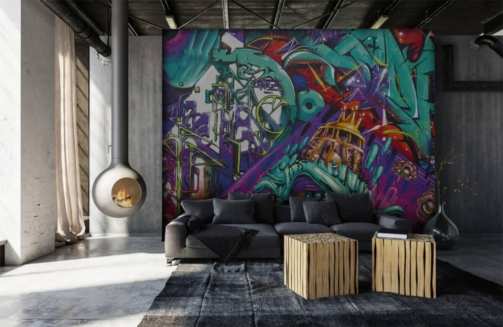 Graffiti Modernt graffiti 7