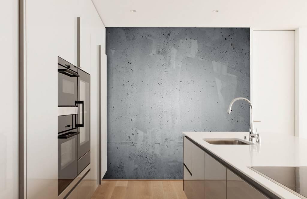 Concrete look tapet Rå betong 3