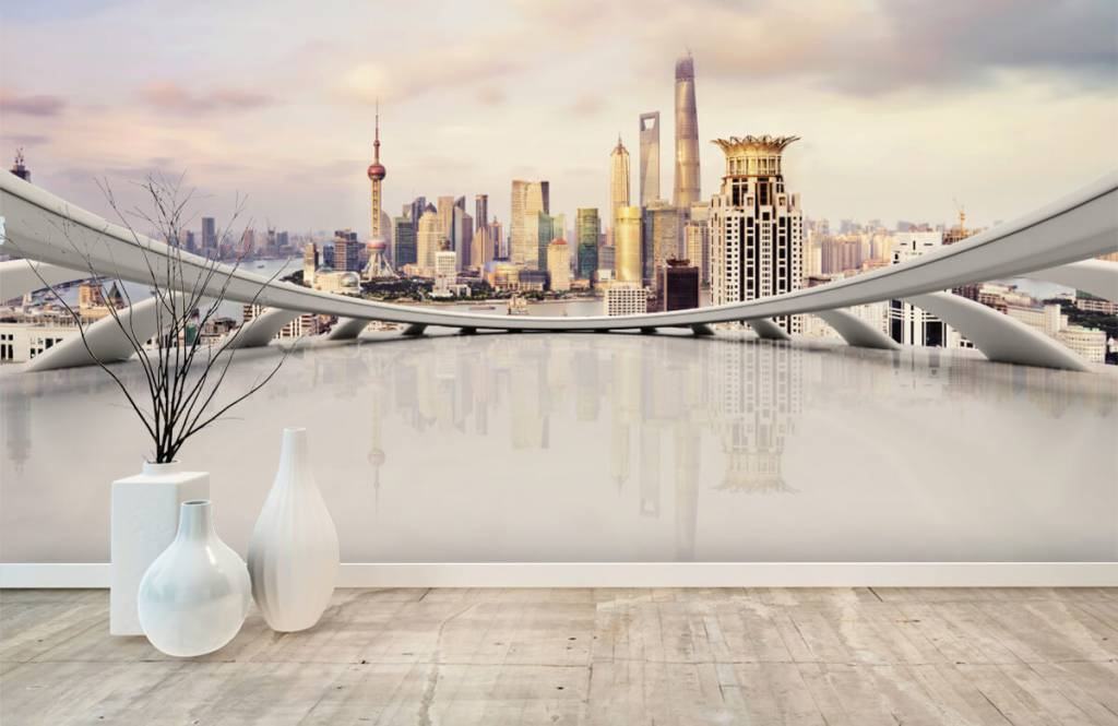 Skyline Shanghai skyline 2
