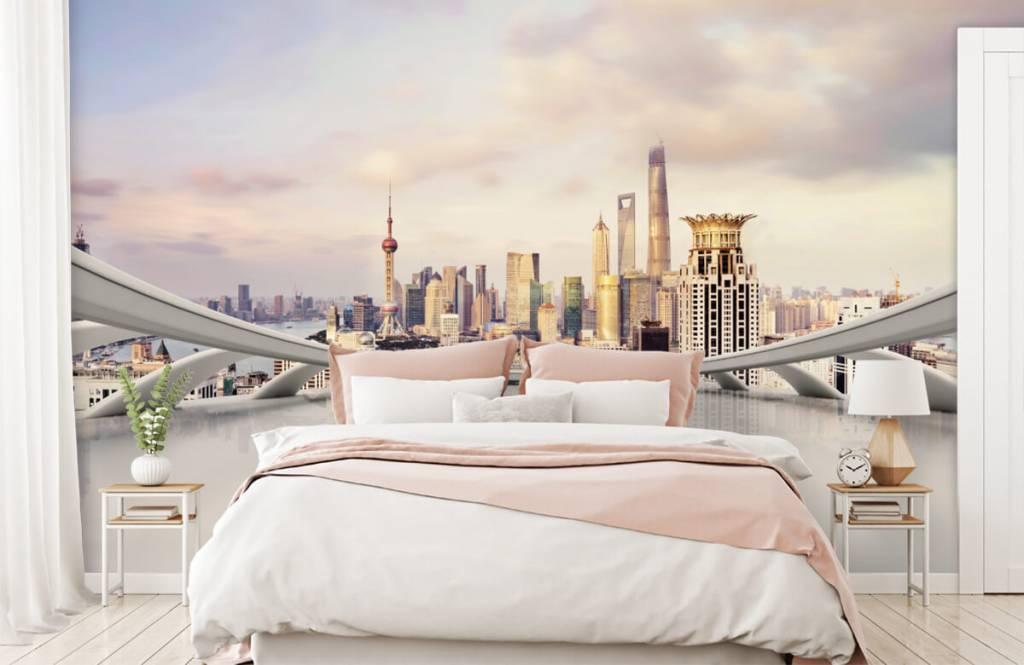 Skyline Shanghai skyline 3