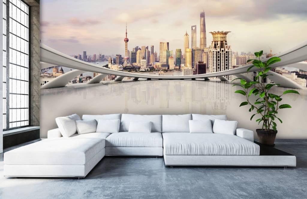 Skyline Shanghai skyline 7