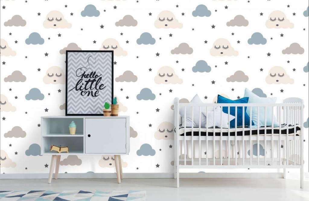 Baby tapeter vilande moln 1