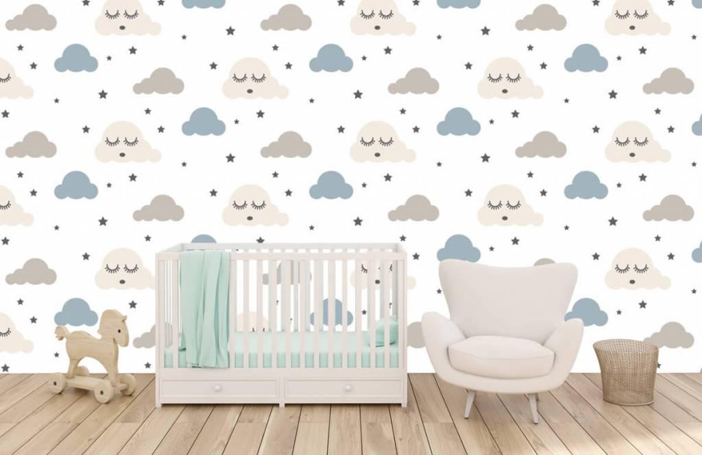 Baby tapeter vilande moln 6