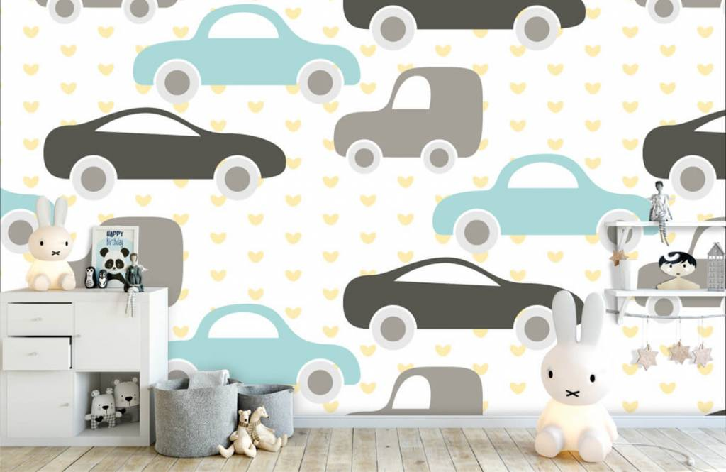 Baby tapeter Leksaksbilar 4