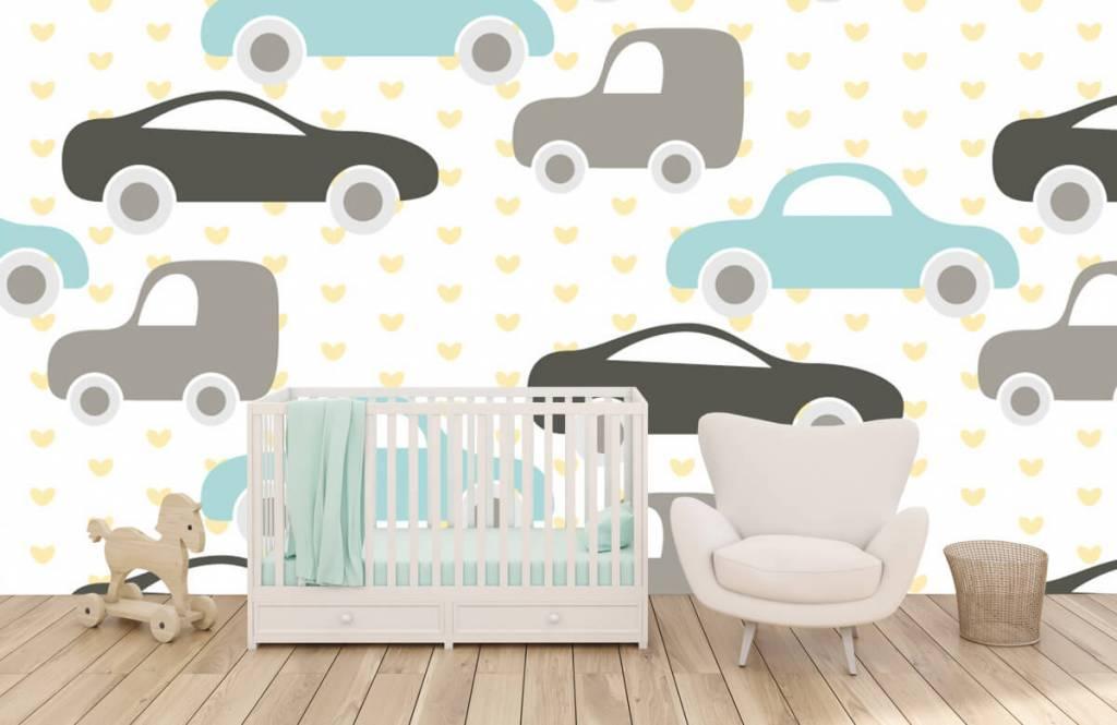 Baby tapeter Leksaksbilar 5