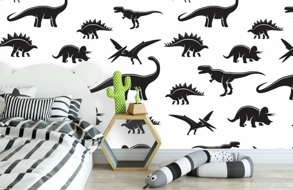 Dinosaurier Svarta dinosaurier 3
