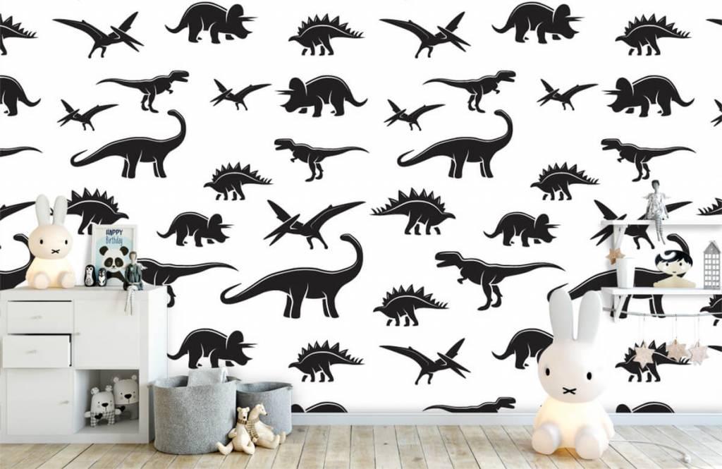 Dinosaurier Svarta dinosaurier 5