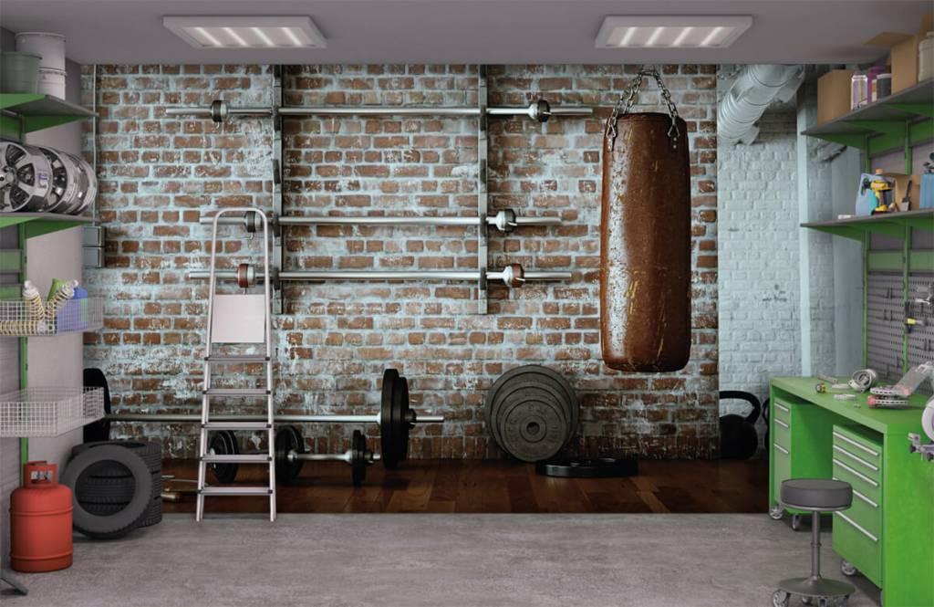 Fitness Vintage gym artiklar 1