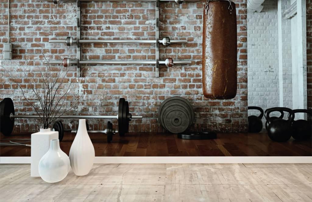 Fitness Vintage gym artiklar 8