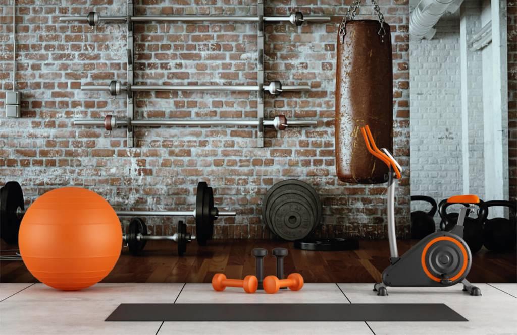 Fitness Vintage gym artiklar 9
