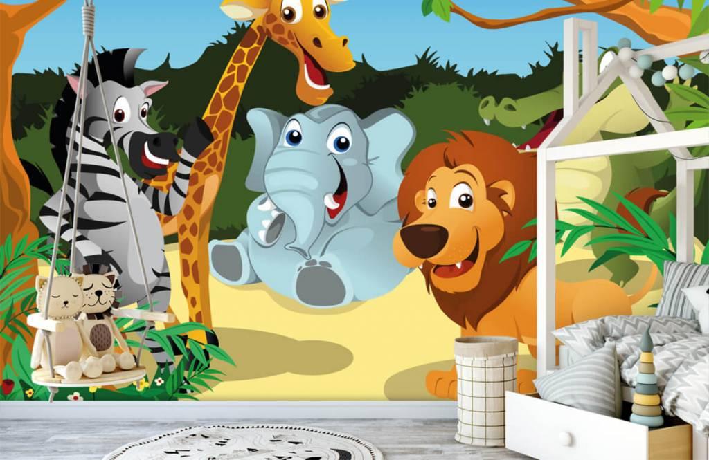 Safari djur Glada vilda djur 1