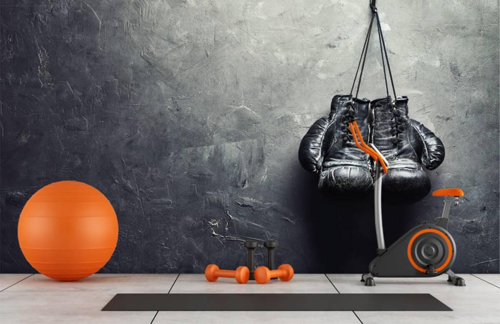 Fitness Svarta boxhochskar 1