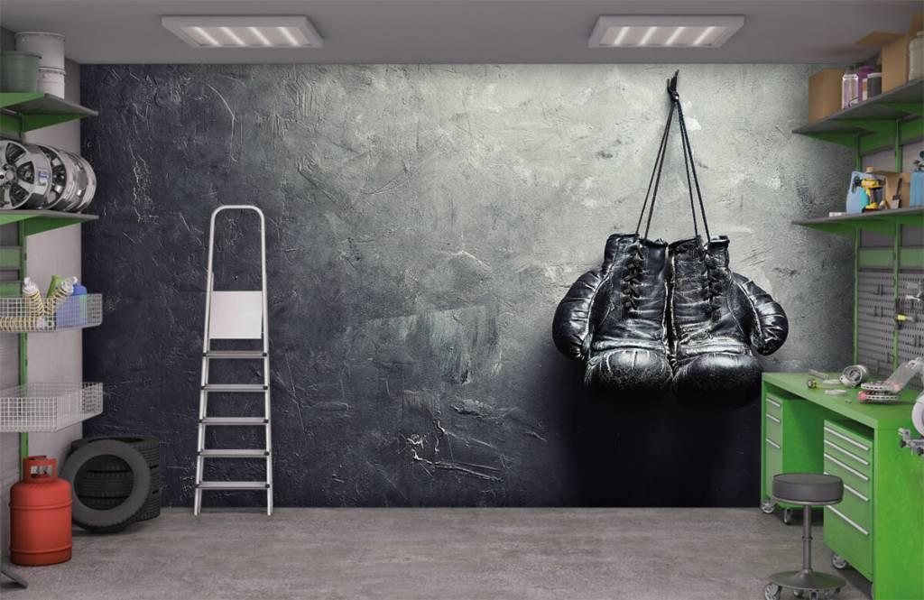 Fitness Svarta boxhochskar 3