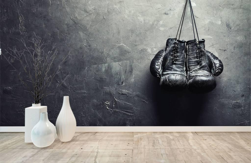 Fitness Svarta boxhochskar 9