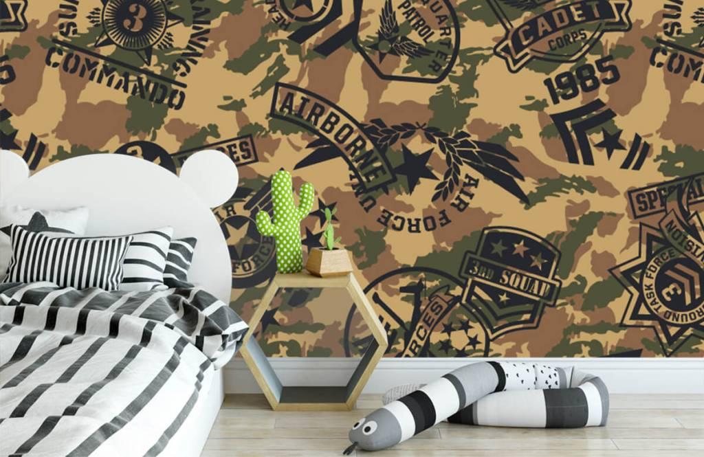 Övriga Kamouflage med logotyper 2
