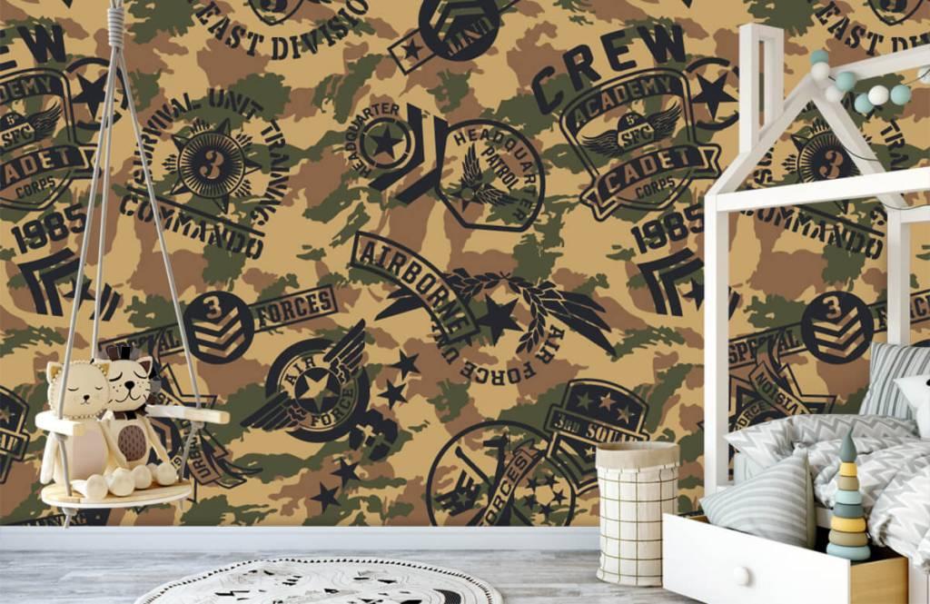 Övriga Kamouflage med logotyper 3