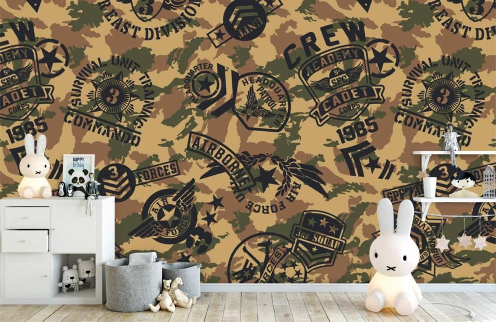 Övriga Kamouflage med logotyper 4