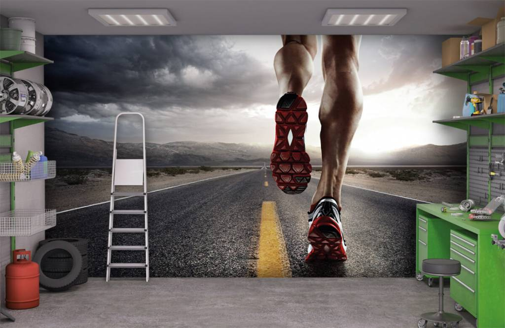 Sport och fitness Ben av en ryttare 1