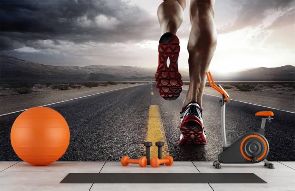 Sport och fitness Ben av en ryttare 2