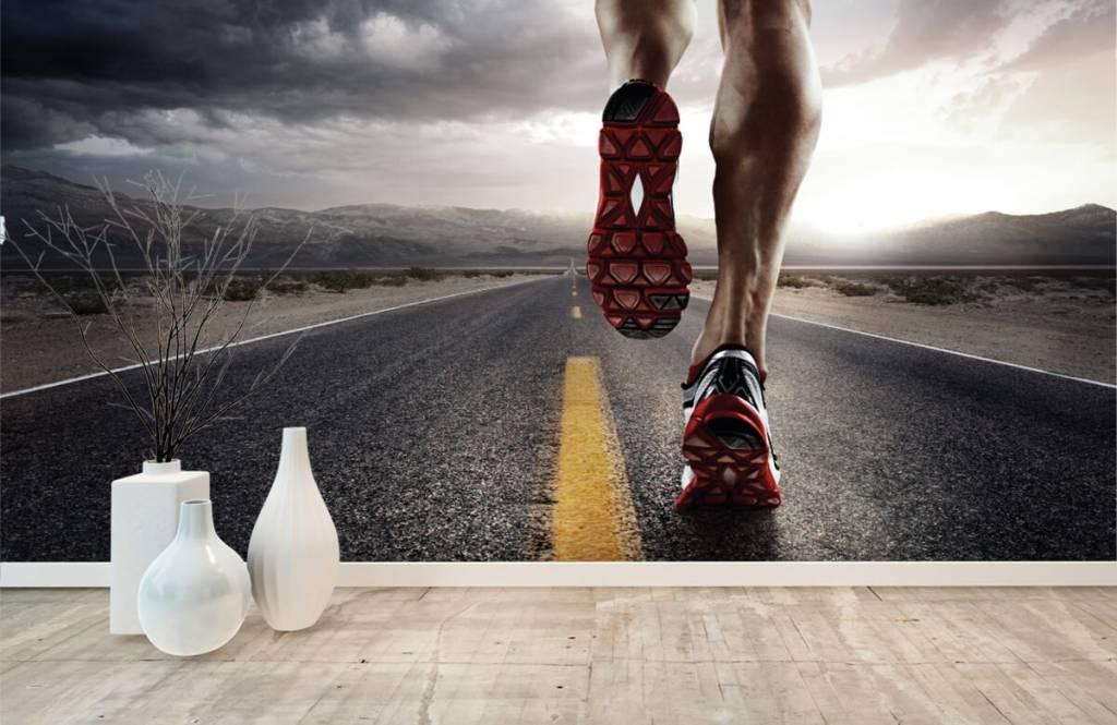 Sport och fitness Ben av en ryttare 9
