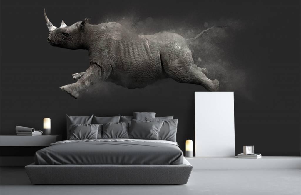 Övriga Hoppoche noshörning 1