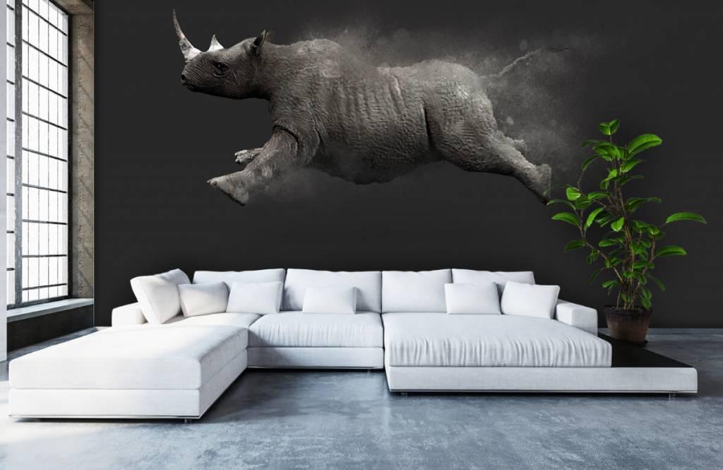 Övriga Hoppoche noshörning 4