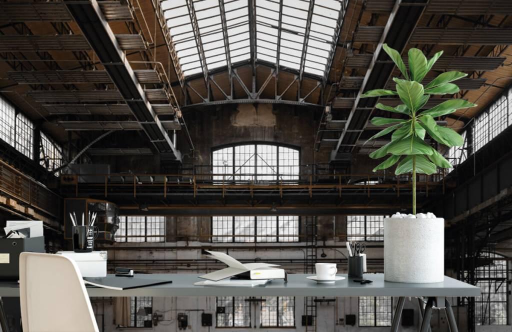 Byggnader Övergiven industrihall 2