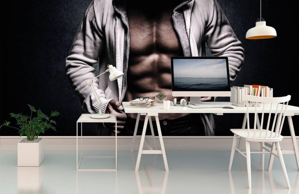 Fitness Muskulös man 3