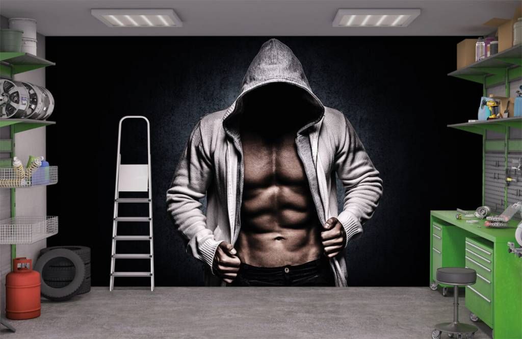 Fitness Muskulös man 4