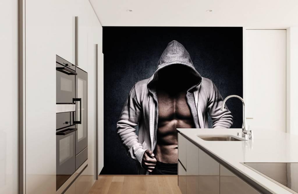 Fitness Muskulös man 6
