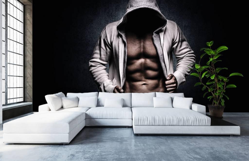 Fitness Muskulös man 7