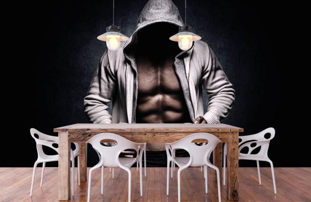 Fitness Muskulös man 8