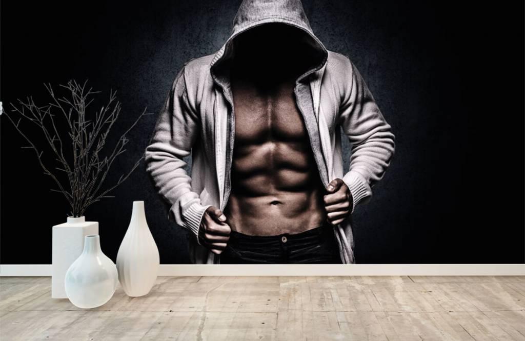 Fitness Muskulös man 9